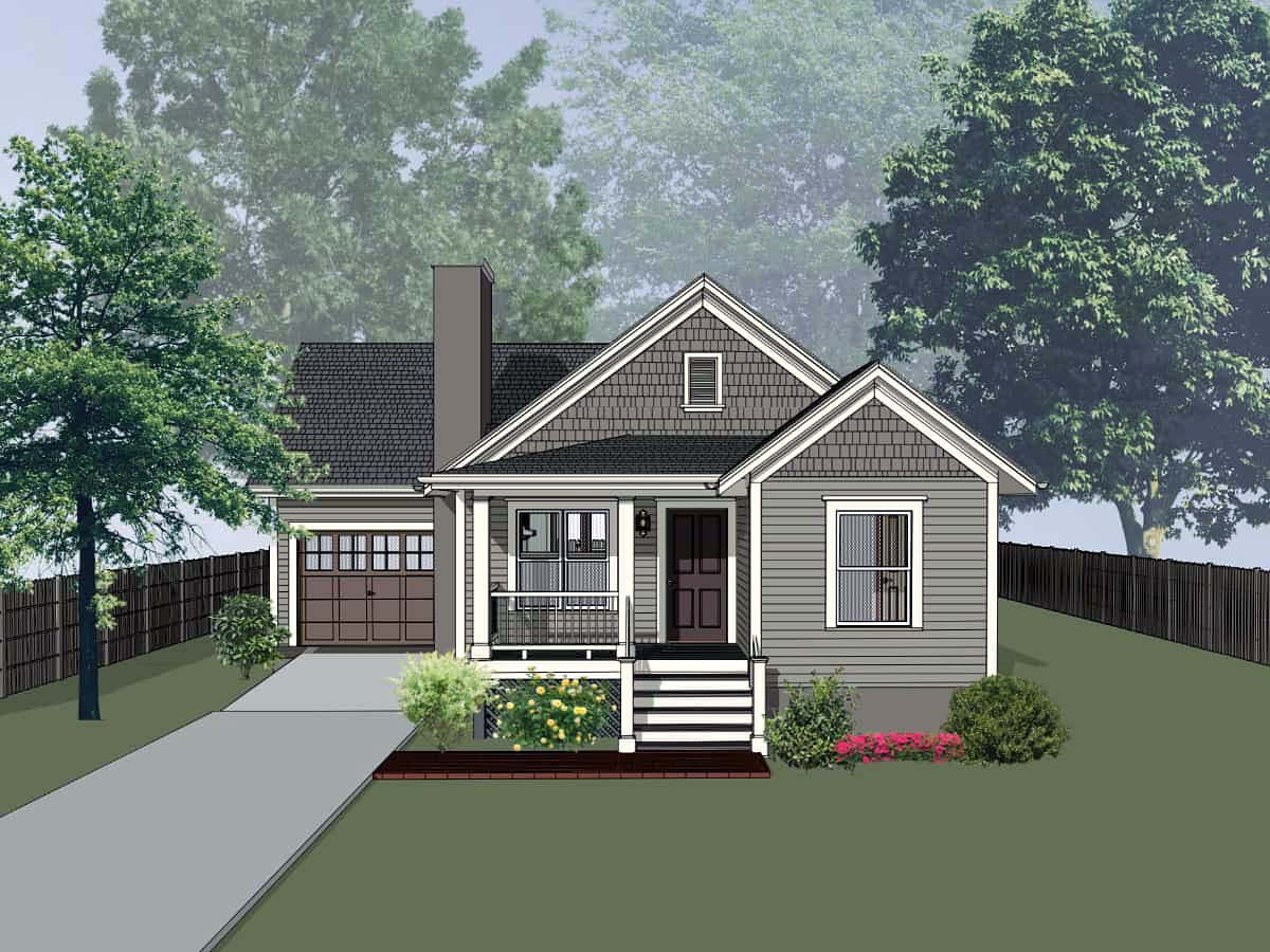 Cottage Style House Plan 75529 with 4 Bed, 2 Bath, 1 Car Garage on cottage house plans with gazebo, apartment plans with garage, cottage house plans lake, vacation home plans with garage, bathroom design with garage, cottage house plans with 2 master suites, cottage side porches design, small cottage plans with garage, luxury house with garage, rustic home plans with garage, cabin plans with garage, cottage house plans modern, cottage house with porch, cottage homes, kitchen with garage, cottage garage floor plans, shed with garage, mountain home plans with garage, log home plans with garage, cottage craftsman house plans,