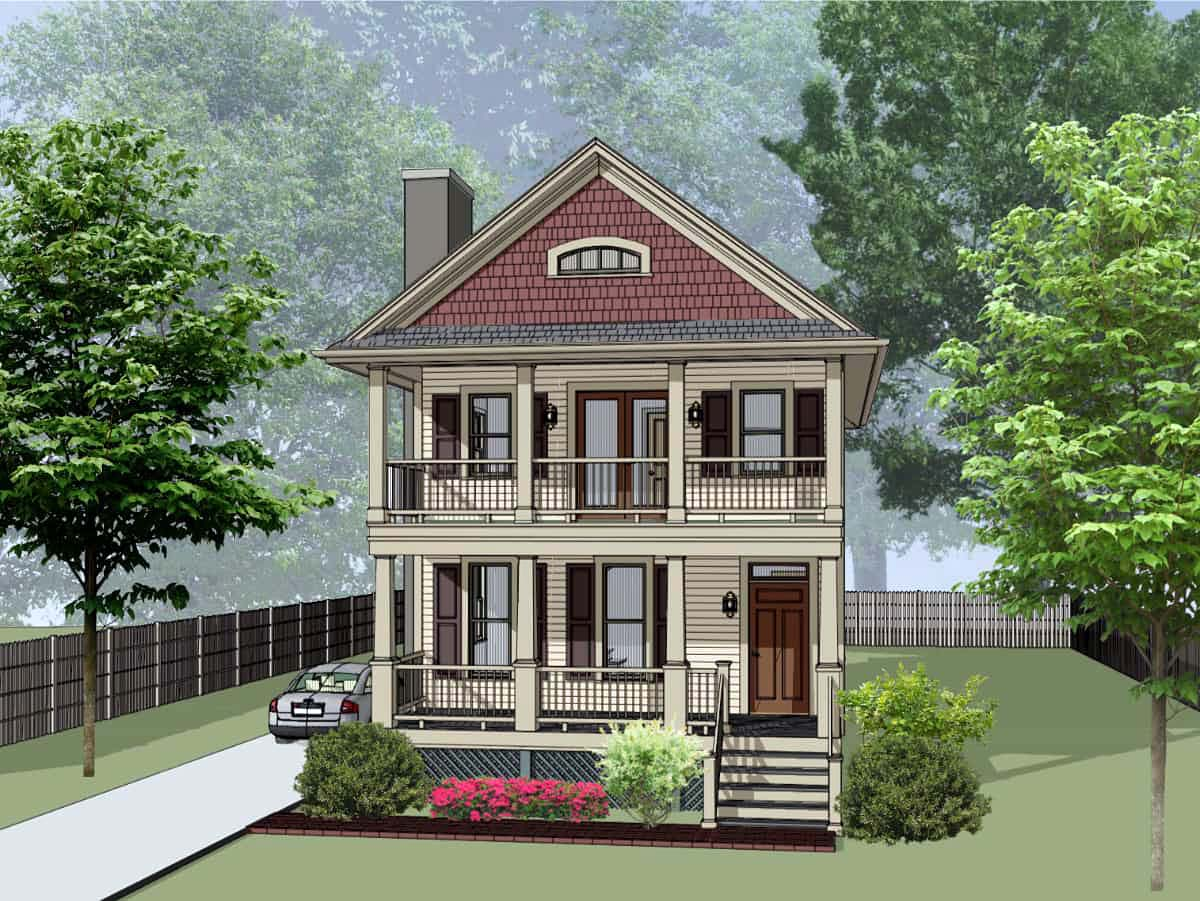 House Plan 75570