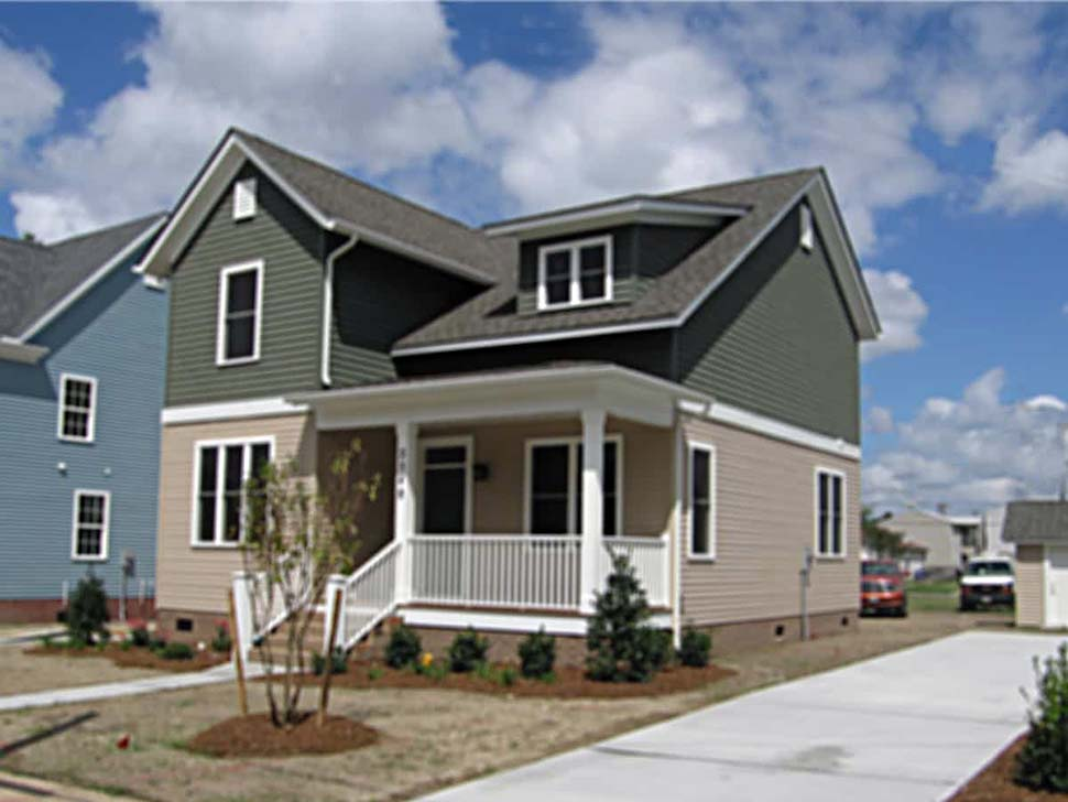 Bungalow, Colonial, Cottage, Traditional House Plan 75574 with 4 Beds, 3 Baths Picture 3