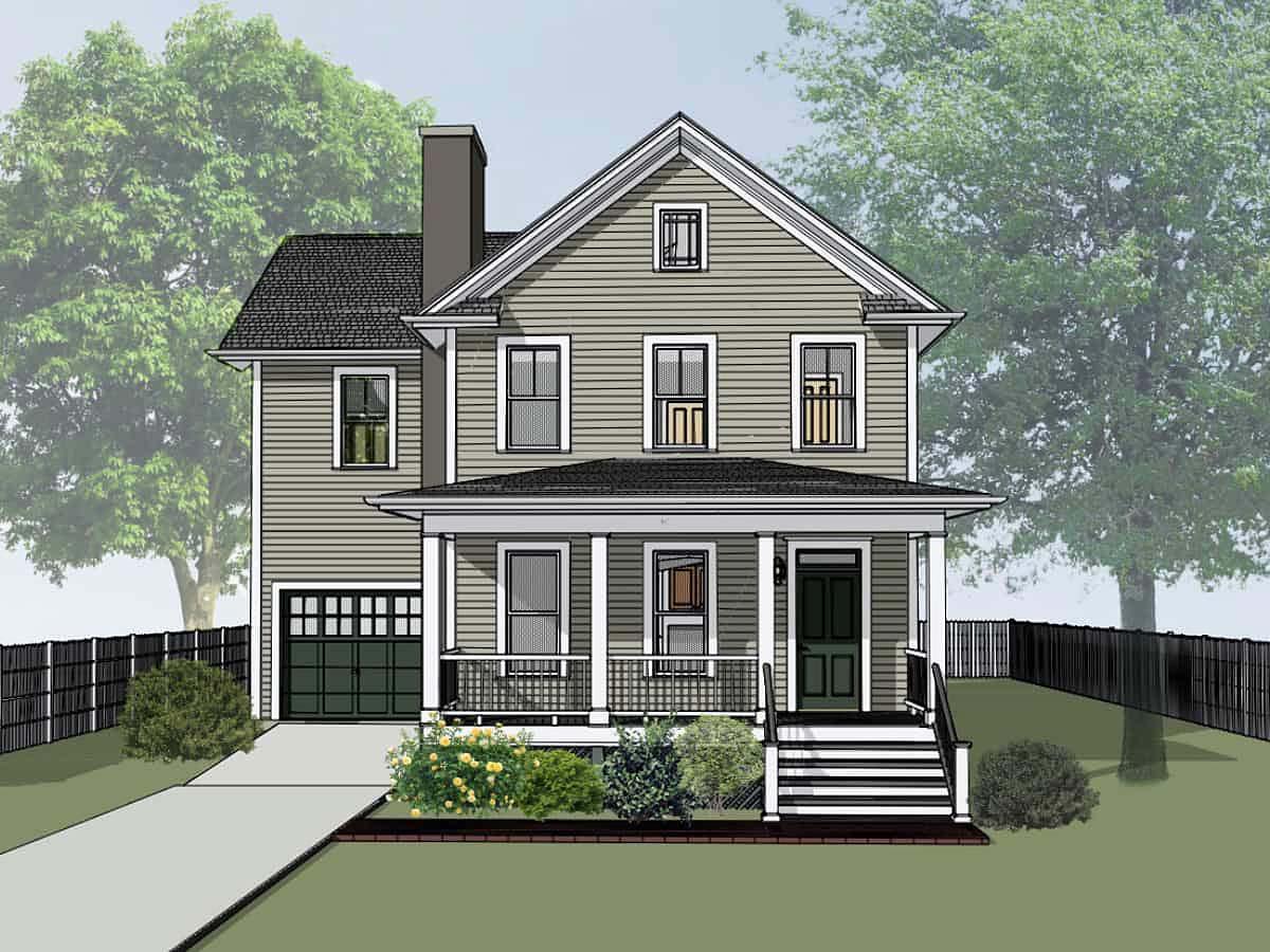 House Plan 75579