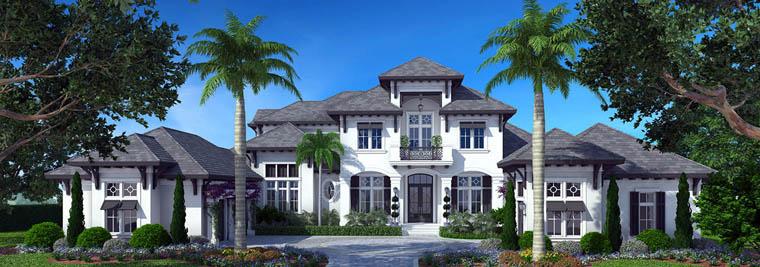 Mediterranean House Plan 75916 Elevation