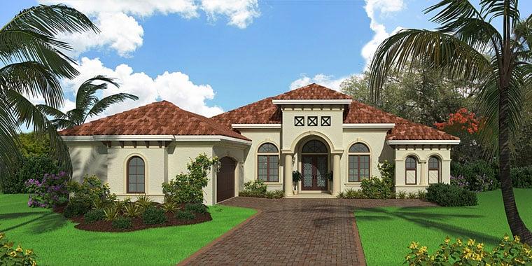 Mediterranean House Plan 75946 Elevation