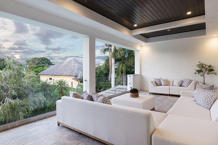 Coastal Florida Mediterranean House Plan 75979