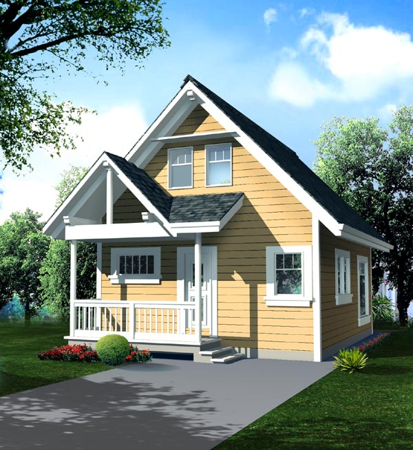 Traditional House Plan 76009 Elevation