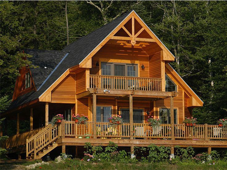 Best vacation cottage home plan joy studio design for Vacation cabin floor plans