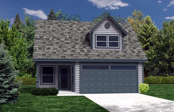 Garage Plan 76013 Elevation