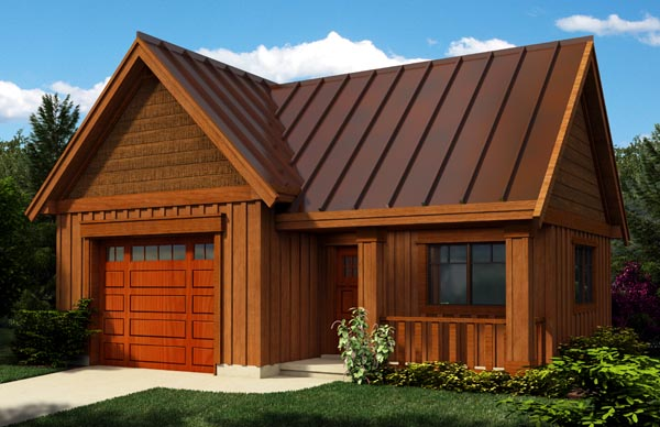 Garage Plan 76018 at FamilyHomePlans.com