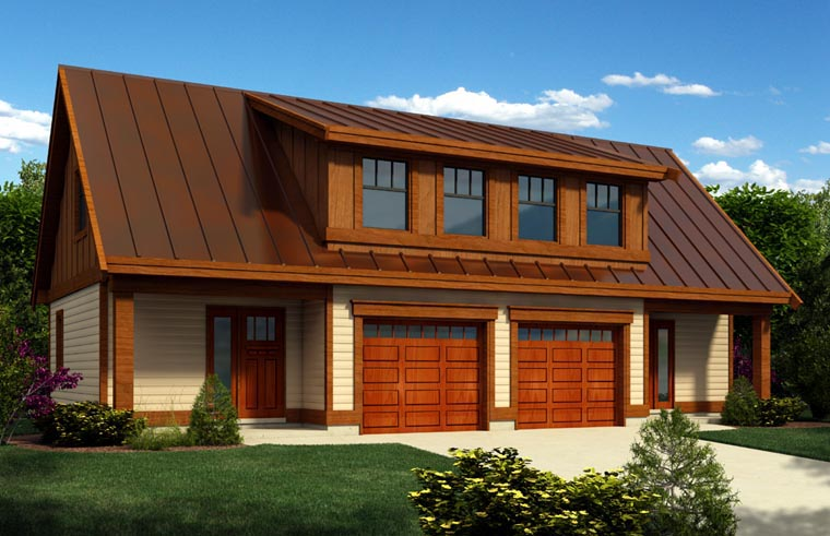 Garage Plan 76021 Elevation