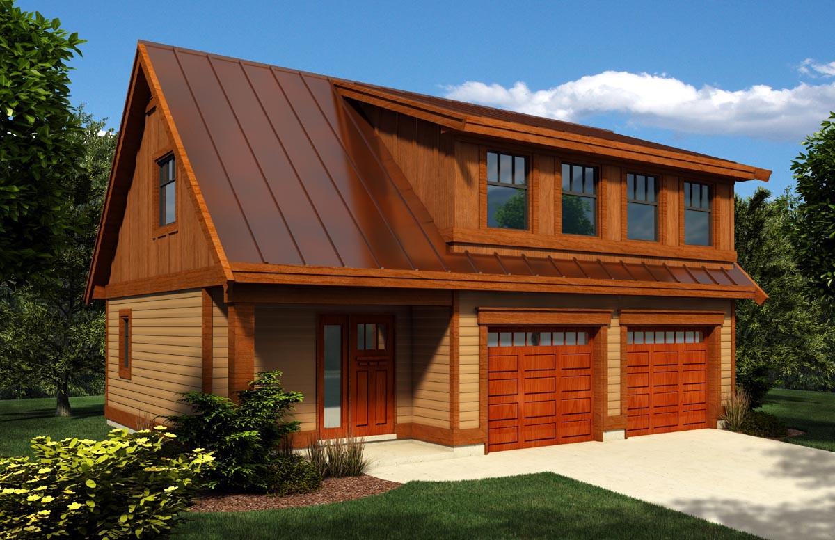 Garage Plan 76024 at FamilyHomePlans.com