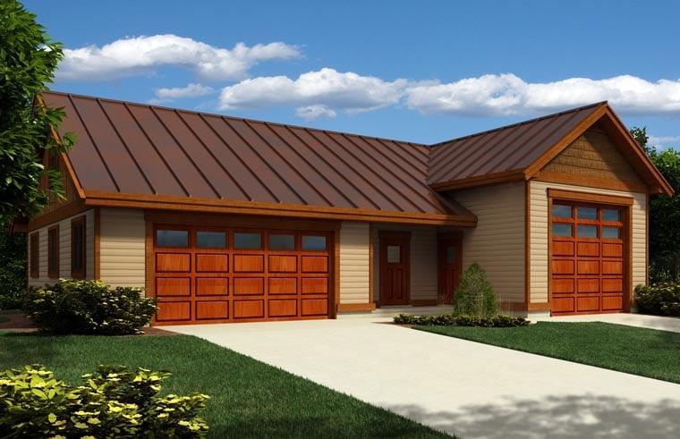 Garage Plan 76028