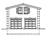 Garage Plan 76030