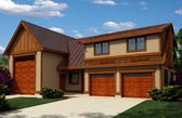 Plan Number 76038 - 1173 Square Feet