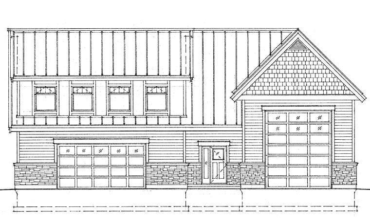 Garage Plan 76039