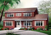 Plan Number 76134 - 2261 Square Feet