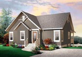 Plan Number 76146 - 1324 Square Feet