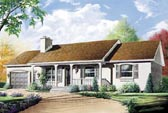 Plan Number 76158 - 1204 Square Feet