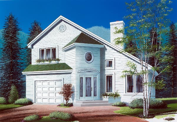 Contemporary House Plan 76159 Elevation