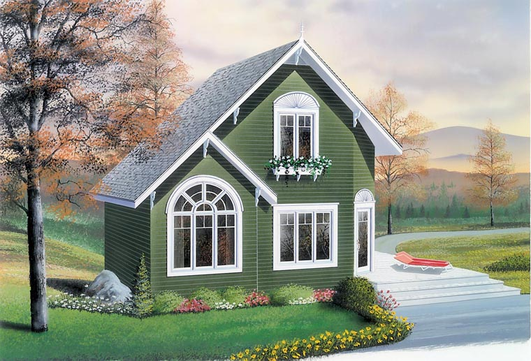 Country House Plan 76168 Elevation