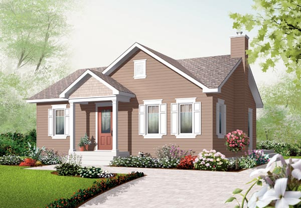 Bungalow House Plan 76181 Elevation