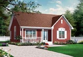 Plan Number 76182 - 1113 Square Feet