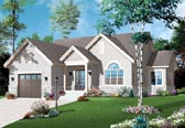 Plan Number 76191 - 1276 Square Feet
