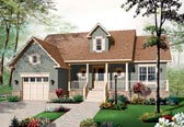 Plan Number 76193 - 1344 Square Feet