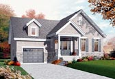 Plan Number 76201 - 1126 Square Feet