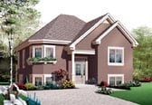 Plan Number 76203 - 949 Square Feet