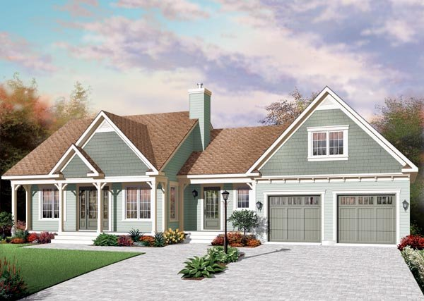 Country House Plan 76219 Elevation