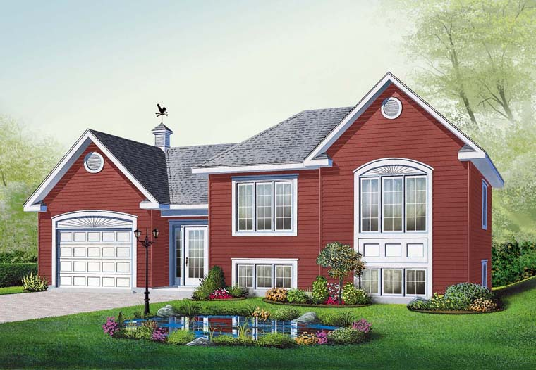 Traditional House Plan 76231 Elevation