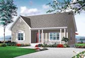 Plan Number 76245 - 1308 Square Feet