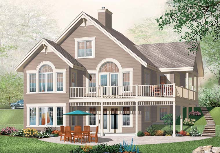Coastal House Plan 76272 Elevation