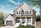 Plan Number 76304 - 1828 Square Feet