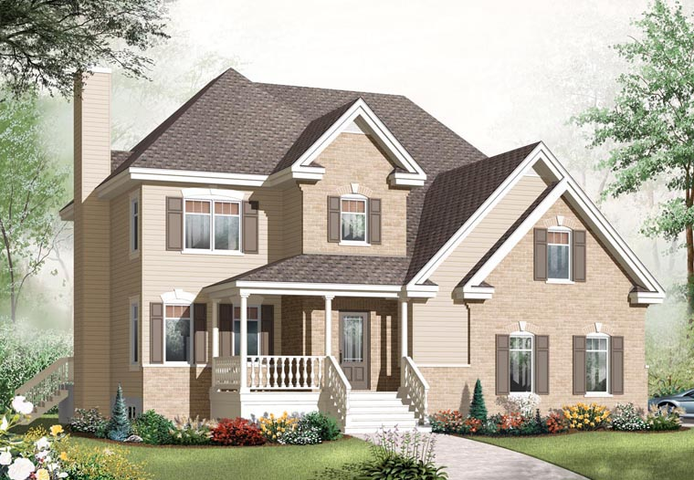 House Plan 76306 Elevation