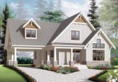 Plan Number 76308 - 1348 Square Feet