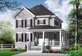 Plan Number 76311 - 1712 Square Feet