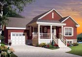 Plan Number 76314 - 1028 Square Feet