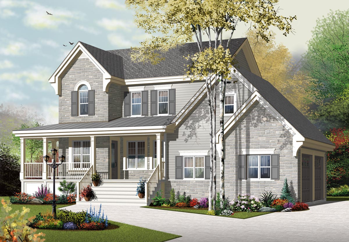 House Plan 76322 At