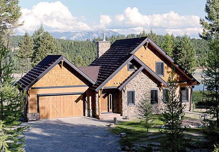 Craftsman House Plan 76330