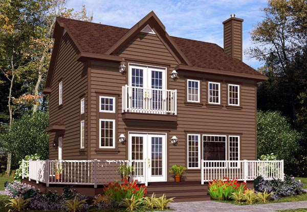 Cottage Craftsman House Plan 76339 Elevation