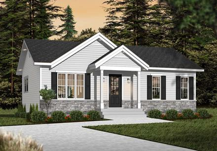 House Plan 76385
