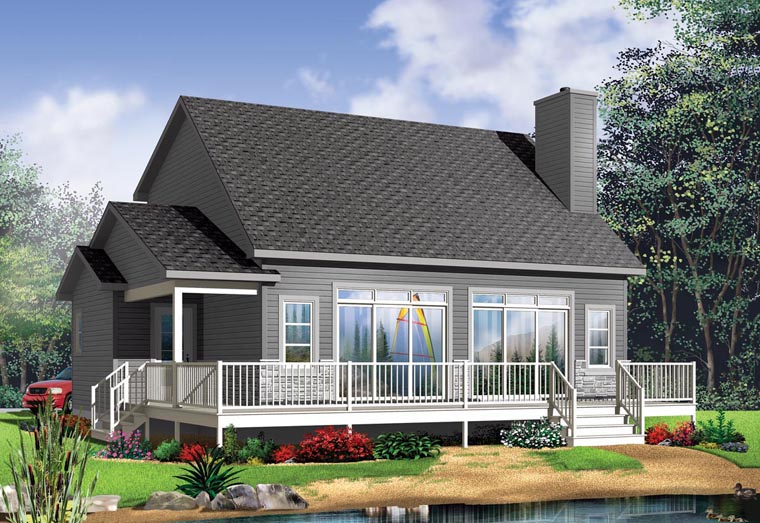 Cottage House Plan 76396 Elevation