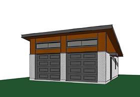 Garage Plan 76399