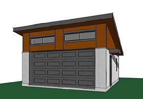 Garage Plan 76400