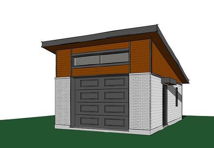 Garage Plan 76402