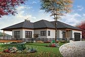 Plan Number 76406 - 2890 Square Feet