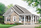 Plan Number 76448 - 1847 Square Feet