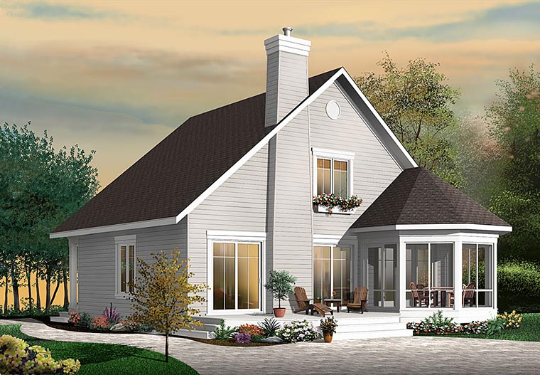 Cottage Southern Traditional House Plan 76452 Elevation