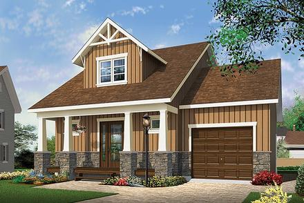 House Plan 76462