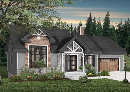 House Plan 76483